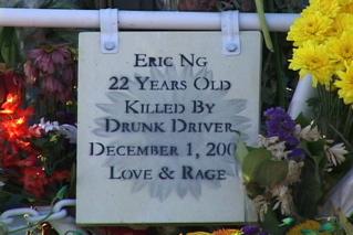 Eric Memorial Plaque