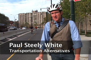 Physically Separated Bike Lanes - Paul White